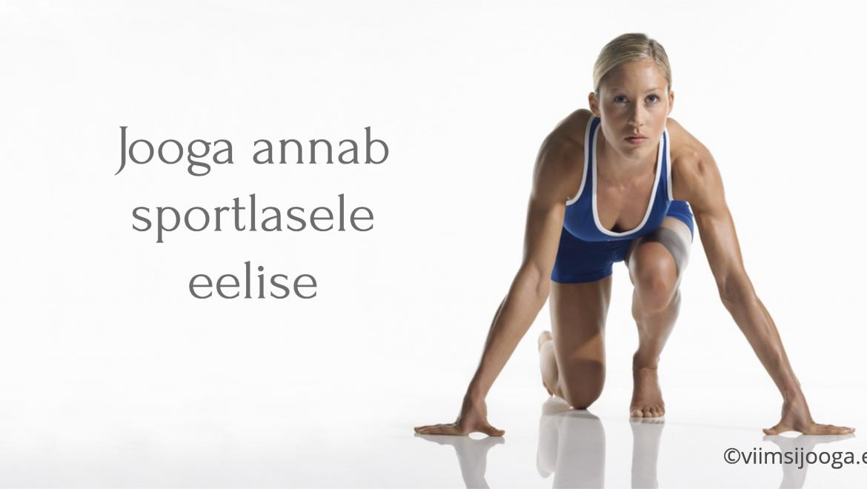Jooga annab sportlasele eelise